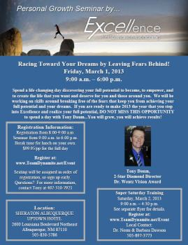 Racing Towards Your Dreams with Tony Daum
