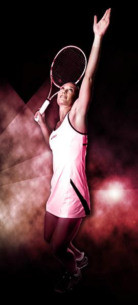 USANA Champion Samantha Stosur - WTA Star Samantha Stosur and USANA athlete