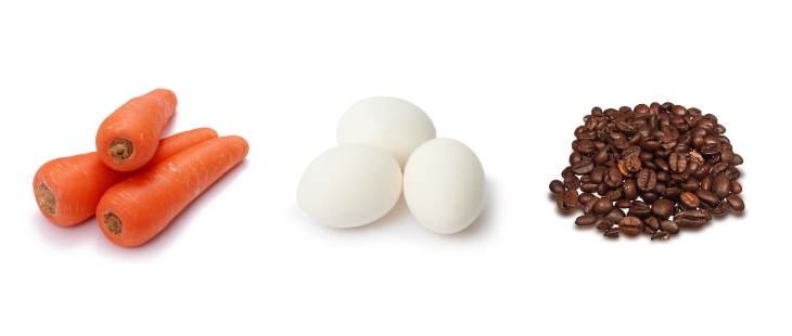 Are You The Carrot Egg or Coffee Bean